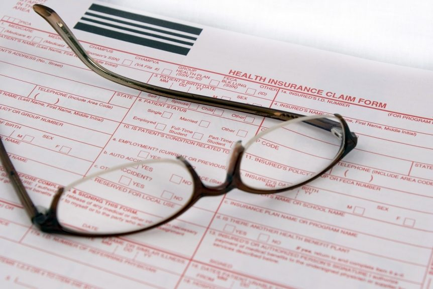 forms for health insurance plans